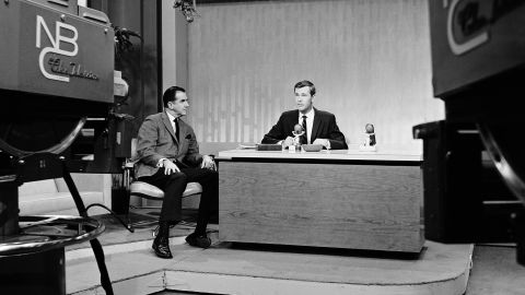 """Johnny Carson, with sidekick Ed McMahon, took over NBC's """"Tonight Show"""" on October 1, 1962. Carson became a TV titan, hosting the program for 30 years and <a href=""""http://www.cnn.com/2005/SHOWBIZ/TV/01/24/carson.appreciation/"""">setting the bar for every late-night host to follow</a>."""