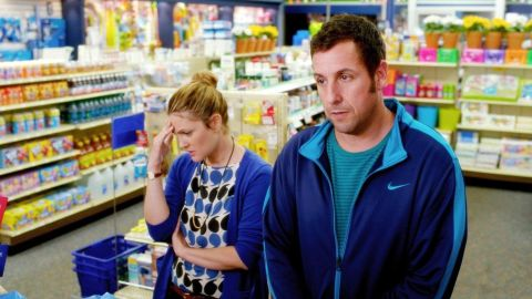 """Drew Barrymore and Adam Sandler star in the romantic comedy """"Blended."""""""