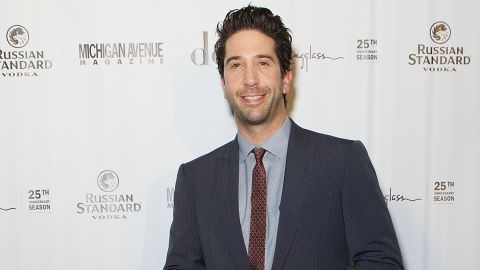 """David Schwimmer was praised for his actions in May 2014 <a href=""""http://www.cnn.com/2014/05/27/showbiz/schwimmer-helps-police-stabbing/index.html"""">after he showed police some video of a bloody brawl, helping authorities solve a crime.</a>"""