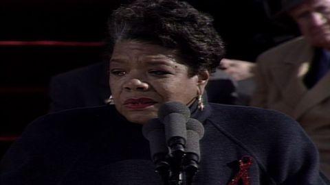 vault 1993 maya angelou pulse morning bill clinton inauguration_00004720.jpg