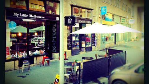 My Little Melbourne coffee shop, Budapest