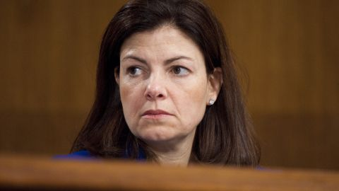 """Sen. Kelley Ayotte, R-New Hampshire, received the backing of 2008 vice presidential candidate Sarah Palin. She is seen in conservative circles as a rising star and someone who could also possible make """"a good running mate."""""""