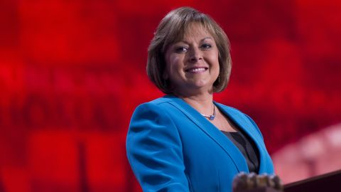 """Gov. Susana Martinez, R-New Mexico, turned heads when she spoke at the 2012 Republican National Convention in Tampa. She is the first Latina to serve as governor. She is often mentioned in GOP circles as someone who """"would make a good running mate."""""""