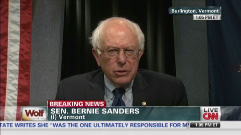 "exp Sen. Bernie Sanders ""saddened"" by Shinseki resignation_00002001.jpg"