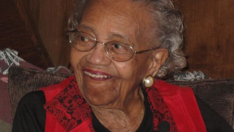 """<a href=""""http://www.cnn.com/2008/POLITICS/10/20/centenarian.votes/"""">Ann Nixon Cooper became famous</a> after President-elect Barack Obama used her story on election night 2008 to talk about the country's progress. """"She was born just a generation past slavery,"""" Obama said. """"At a time when women's voices were silenced and their hopes dismissed, she lived to see them stand up and speak out and reach for the ballot."""" She died in 2009 at age 107. The secret to her long life, she said, was being cheerful: """"I've always been a happy person, a giggling person, a wide-mouthed person."""" She also kept fit, dancing the electric slide until age 103."""