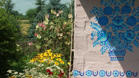 """<strong>11. The """"painted village"""": </strong>Zalipie """"has a long-lasting tradition of <a href=""""http://ireport.cnn.com/docs/DOC-1138739"""">painted cottages</a>,"""" says Agnieszka Pawlus. """"This cheerful place, sometimes balancing on the borders of kitsch, is a fantastic place to discover. The people are open and willing to share their passion with guests."""""""
