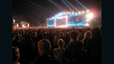"""<strong>15. Przystanek Woodstock:</strong> Jean-Pierre Bijouard enjoys Poland's <a href=""""http://ireport.cnn.com/docs/DOC-1139563"""">Przystanek Woodstock</a>, a massive open-air music festival in the town of Kostrzyn Nad Odra. Woodstock, inspired by the famous 1969 festival of the same name, is """"a huge crowd of music lovers meandering through an ephemeral city, going to and coming from the three main stages to vibrate to the rhythms of international rock music,"""" said Bijouard."""