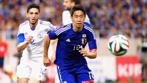 <strong>Shinji Kagawa (Japan):</strong> The attacking midfielder's speed, vision and creativity would likely guarantee the 25-year-old a spot on any club in the world. But this year, an underachieving and in-transition Manchester United featured him in only 18 games. He went goalless and notched only three assists. He'll need to shake off the rust if Japan is to advance out of an up-for-grabs Group C.