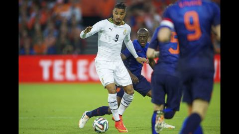 <strong>Kevin-Prince Boateng (Ghana):</strong> The Black Stars have aging stars. It's unclear if Michael Essien and Asamoah Gyan can match their past performances, so much will be expected of KPB. An astute tackler with decent speed -- and a resume that includes knocking the U.S. team out of the 2010 World Cup -- the German-born midfielder must finish and tackle well. He'll also need to be careful, because he's no stranger to bookings.