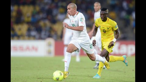 <strong>Sofiane Feghouli (Algeria):</strong> This guy's fun to watch. A midfielder for Valencia, he's arguably Algeria's most talented player despite being only 24. While he's capable of the occasional goal, defenders will be more worried about his quickness, ball control and his ability to place a pass on a teammate's foot in stride. Algeria has an inexperienced set of strikers, so they should benefit from being on the end of Feghouli's top-drawer passing.