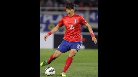 """<strong>Ki Sung-yueng (South Korea):</strong> He's a controversial young fellow. He's snarked at fans, insulted his manager and once celebrated an Asian Cup goal with an impersonation that <a href=""""http://bleacherreport.com/articles/587718-south-koreas-ki-sung-yeung-blames-scottish-fans-for-his-racism-taunts"""" target=""""_blank"""" target=""""_blank"""">had some Japanese crying racism</a>. Most recently, he put the wrong hand on his chest during the national anthem. All that aside, he's a talented central midfielder who's made more than one defender look silly since joining the English Premier League in 2012."""