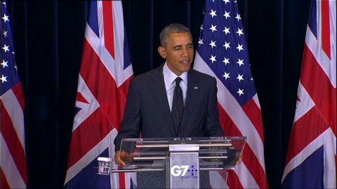 sot obama g7 bowe bergdahl not political football_00000224.jpg