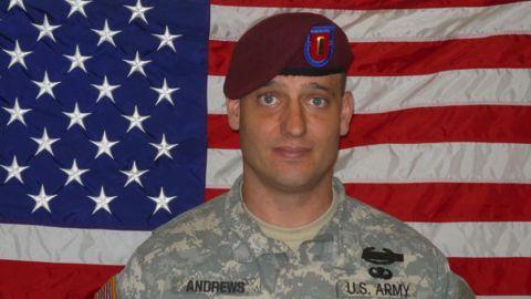 2nd Lt. Darryn Deen Andrews was killed in September 2009.