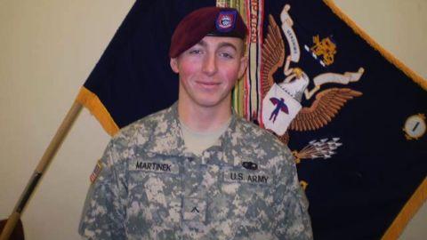 Pfc. Matthew Michael Martinek was killed on September 11, 2009.