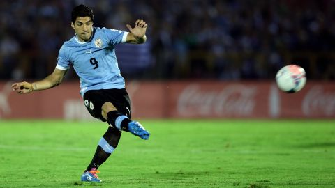 """<strong>Luis Suarez (Uruguay):</strong> Yes, he just had <a href=""""http://www.cnn.com/2014/05/23/sport/football/luis-suarez-world-cup-football/"""">knee surgery</a>, and Coach Oscar Tabarez says he can't be sure his magical goal conjurer will play. If Suarez plays, he promises to be a strong storyline in a tightly contested group. If he doesn't play, ditto. Uruguay has other goal scorers in Edinson Cavani and Diego Forlan, but neither enjoyed the form that Suarez displayed this season in netting 31 goals as part of the high-octane Liverpool offense."""