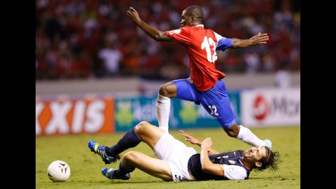<strong>Joel Campbell (Costa Rica):</strong> Keep an eye on the 21-year-old. Costa Rica's opponents certainly will. Signed by Arsenal at age 18, he's spent the last three years on loan to French, Spanish and Greek clubs. USA fans will also remember him for his ridiculous dive during a World Cup qualifier last year. He'll be looking to redeem himself -- and his ho-hum club form of late -- with a memorable Cup, but he'll have his work cut out.