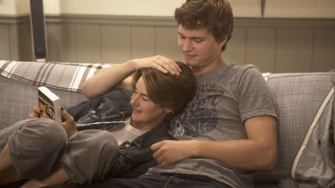 """The hotly anticipated film version of John Green's """"The Fault in Our Stars,"""" starring Shailene Woodley and Ansel Elgort, reached theaters in summer 2014 and opened at No. 1."""
