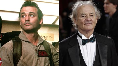 """As the charming Dr. Peter Venkman, Bill Murray could do no wrong in the eyes of the audience. Not much has changed since then. Most recently Murray acted in """"Monuments Men"""" and """"The Grand Budapest Hotel,"""" and this fall stars in the buzzworthy """"St. Vincent."""" In 2015, he'll provide voice work in a movie that would make Venkman proud: the animated comedy """"B.O.O.: Bureau of Otherworldly Operations."""""""
