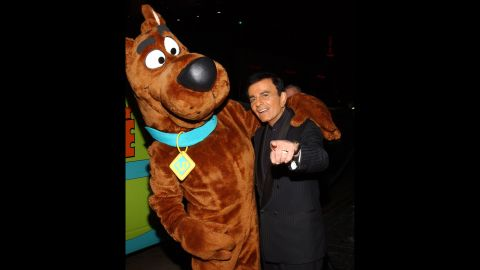 Scooby Doo and Casey Kasem was the voice of Scooby Doo's Shaggy for decades.