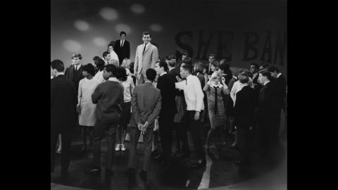 """Kasem moved to the West Coast in the early '60s. He hosted  the KTLA music show """"Shebang!"""" in Los Angeles in 1965."""