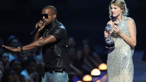 """All the apologies in the world couldn't repair Kanye West's PR damage after he interrupted Taylor Swift's acceptance speech at the 2009 MTV Video Music Awards. Although <a href=""""http://www.cnn.com/2009/SHOWBIZ/Music/09/15/kanye.west.apology/index.html?iref=allsearch"""" target=""""_blank"""">he apologized more than once</a> -- <a href=""""http://music-mix.ew.com/2010/09/04/kanye-west-apologizes-to-taylor-swift-on-twitter-ive-learned-i-only-want-to-do-good/"""" target=""""_blank"""" target=""""_blank"""">via Twitter</a>, by phone and on """"The Tonight Show"""" with Jay Leno as host -- public opinion wasn't swayed."""