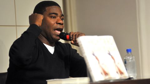 """Tracy Morgan promotes his book """"I Am The New Black"""" at Barnes & Noble Union Square on October 22, 2009, in New York."""