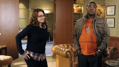 """Morgan and Tina Fey worked together after SNL on the show """"30 Rock."""" Morgan played Tracy Jordan, a character that was loosely based on himself."""