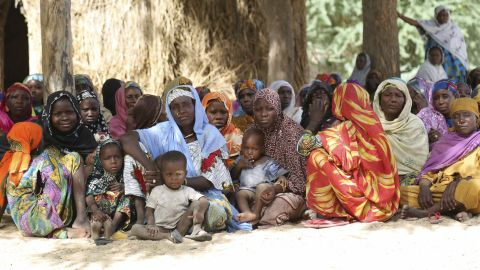 The International Rescue Committee estimates that 80 percent of Nigerian refugees fleeing across the border to Niger are women and girls.