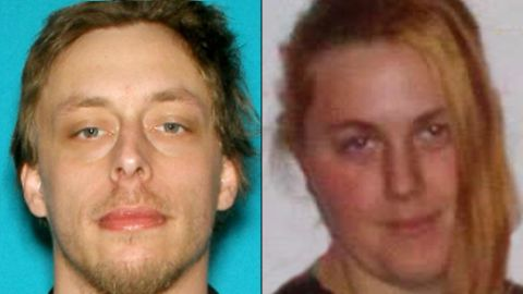 Las Vegas police say Jerard Miller and his wife, Amanda shot dead two police officers in a Las Vegas pizza restaurant on Sunday, June 8, 2014.  Police say they then ran to a nearby Walmart park lot where they shot dead a female bystander.  The couple left a manifesto referencing a revolution.