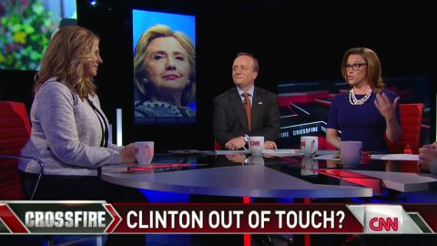 """Crossfire: Problems with Hillary Clinton the """"inevitable"""" _00013204.jpg"""