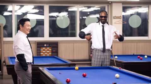 Psy took Snoop on a whirlwind tour of Incheon, filming 20 scenes in 10 locations in just 18 hours.