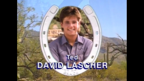 David Lascher starred as handsome troublemaker Ted McGriff.