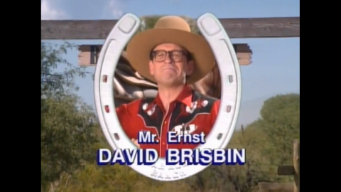 David Brisbin played Mr. Ernst, the owner of Bar None, and provided most of the show's laughs.