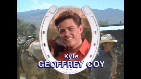 Geoffrey Coy played Kyle Chandler,  another late series addition as the heartthrob to rival Ted McGriff.