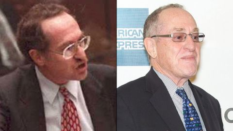 """<strong>Alan Dershowitz: </strong>Dershowitz played a major role in Simpson's defense team. He retired in 2014 after 50 years of teaching at Harvard University. Dershowitz has written 30 books. His legal autobiography, """"Taking The Stand: My Life in the Law,"""" came out in October 2013. <br />"""