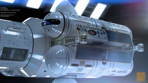 Warp-drive technology would allow for spacecraft to travel faster than the speed of light, condensing thousands of years of space travel into days.
