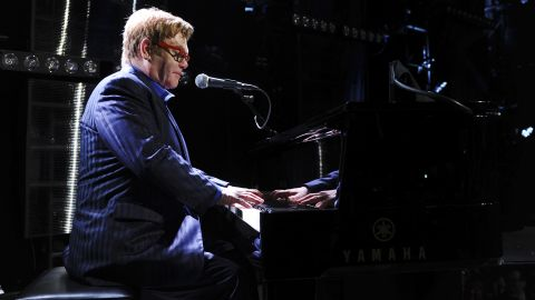 """<strong>Elton John, father of two, on life's spills: </strong>""""Everything I thought I would find annoying about having children -- screaming, shouting, tantrums and anything like that -- I don't find any of it annoying. I find it all enchanting. I'm a good barf cleaner."""""""