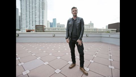 """<strong>David Beckham, father of four, on teaching values</strong>: """"It would be easy for our kids to sit back and not work for anything, but they're not like that. ... They want to work at something. They know their values. That's the way we've brought them up so far, and that's the way we'll continue to bring them up."""""""