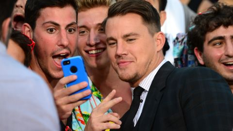 """<strong>Channing Tatum, father of one, on cleaning duty:</strong> """"I'm solid at changing a diaper. ... If a guy isn't good at changing a diaper, I don't know what he's there for, really, 'cause they're not there for the first seven months for any other reason than to do that."""""""