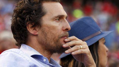 """<strong>Matthew McConaughey, father of three, on responsibility</strong>: """"Everything I do leads back to them: how I take care of myself, how I handle myself, how I need to make sure that I stay healthy and literally alive, because they need me. That's a great responsibility."""""""