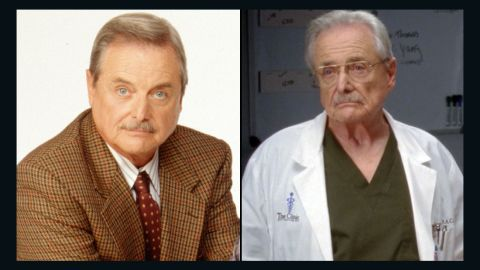 """William Daniels starred as George Feeny who morphed from teacher to principal and mentor for Cory. Daniels starred as Dr. Craig Thomas on the hit ABC show """"Grey's Anatomy"""" in 2012 and once again takes on the role of Feeny in """"Girl Meets World."""""""