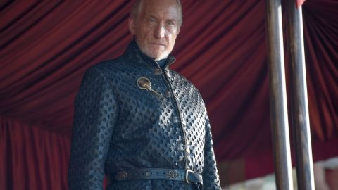 """It seemed almost poetic that Tywin Lannister (portrayed by Charles Dance) was killed by his son Tyrion on an episode of """"Game of Thrones"""" that aired on Father's Day 2014. It was a less than dignified end for the Lord of Casterly Rock, who bought it while on the commode."""