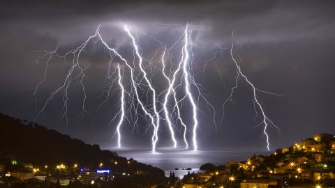 """Several severe thunderstorms came through the oceanfront city of Dubrovnik, Croatia, in June.<a href=""""http://ireport.cnn.com/docs/DOC-1144291""""> Boris Basic</a>, who snapped this photo, said the storms also brought hail and flash flooding. """"It was intense experience,"""" he said."""