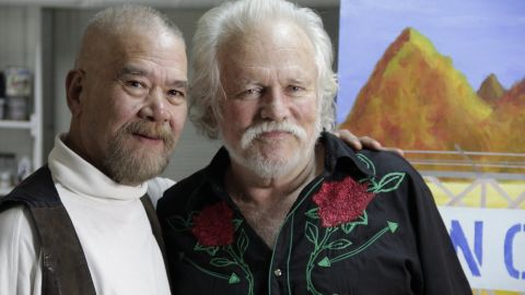 Tony Sullivan (right) and Richard Adams married in 1975 but immigration authorities did not recognize the union.