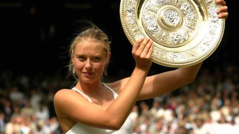 In 2004, Sharapova arrived at Wimbledon as the underdog, and left a champion. She was only 17 years old when she defeated Serena Williams in the final. It would be the first of five grand slam victories to date.