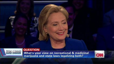 tsr amanpour clinton town hall recreational marijuana_00011322.jpg