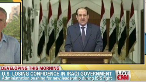 iraq Al-Maliki has to go for Iraq's sake robertson earlystart _00002711.jpg