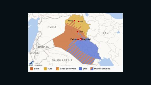 Iraq's ethnic divide