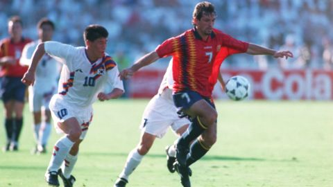 Spain's Andoni Goikoetxea once broke Diego Maradona's ankle, and reportedly kept the boot that did it in a display case at home.