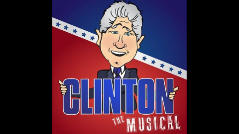"""Dueling Bill Clintons will be on view in """"Clinton: The Musical,""""  a political satire coming to New York next month."""